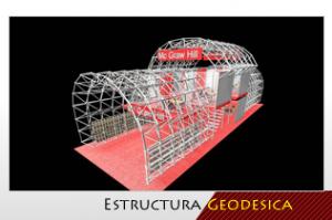 estructura geodesica